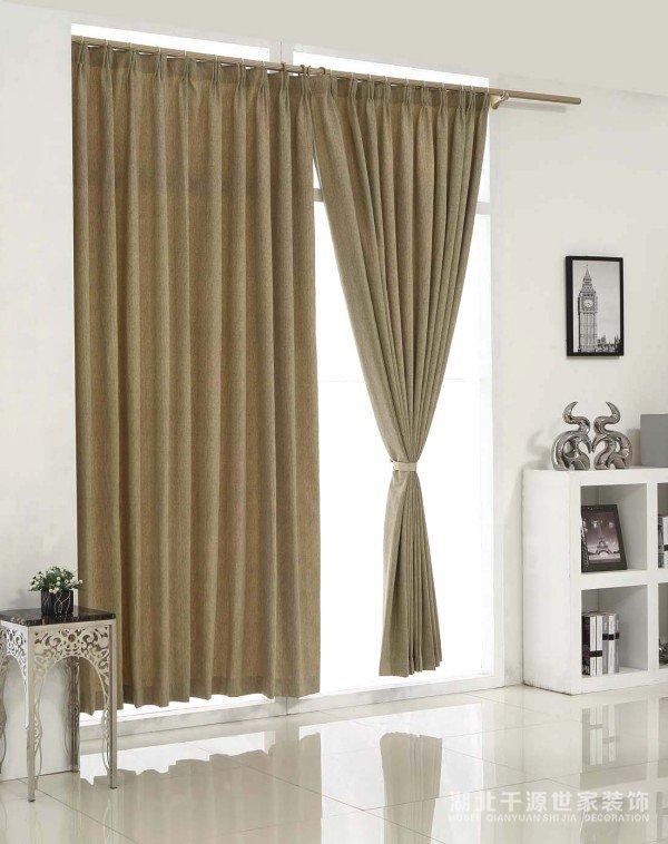 首先,什么样的材料对窗帘有好处?