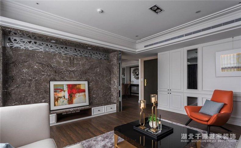 大宅装修案例丨新古典大宅里的生活,享受贵族式下午茶时光