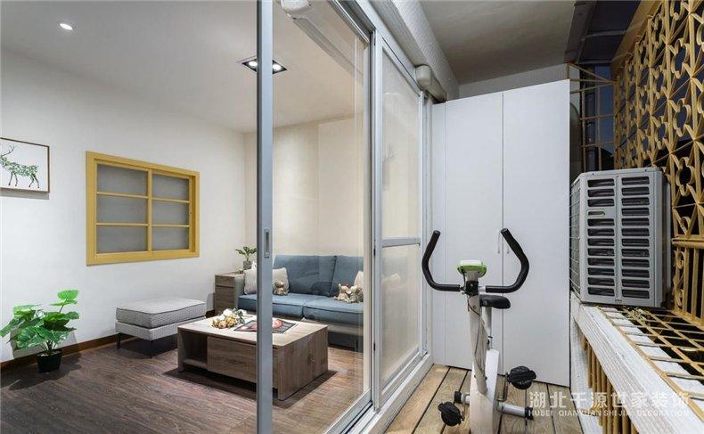 二手房翻新参考案例丨小户型也能有大餐厅,书桌、健身房一个很多