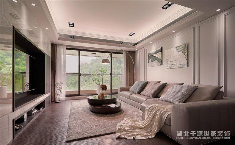 豪宅装修设计丨相得益彰的室外景色与人文设计,显露品味与身份【宜昌装修】