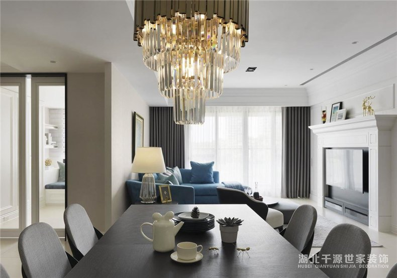 新古典豪宅装修丨来自大师的艺术灵感,为优雅品味加持【宜昌装修】