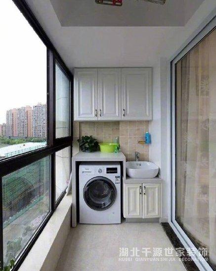 千源世家讲述你洗衣区怎么部署更合理?【宜昌装修】
