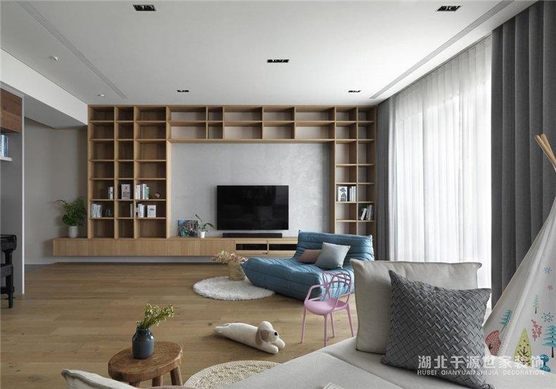 200平方米装修案例丨静下心来读一读,书写本身的居家生活新篇章