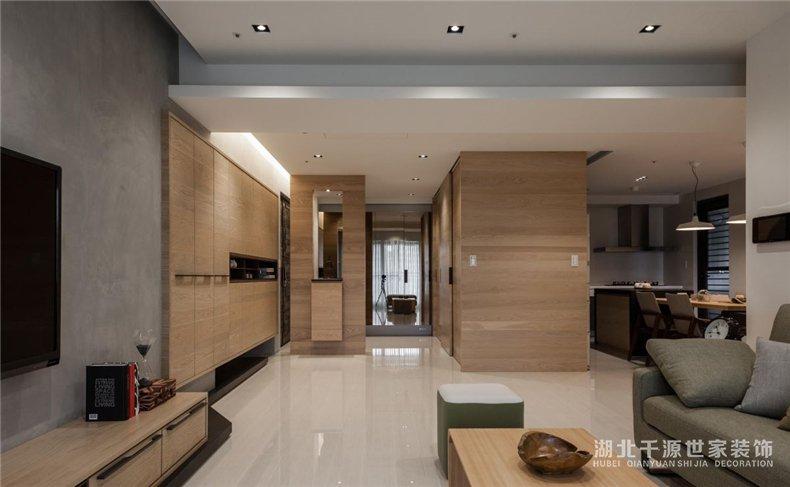 上海毛坯房装修参考丨自住、待客两不误,忙碌上班族的实用四房