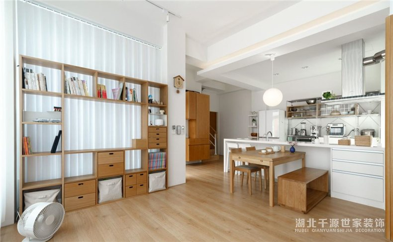 1月份三房装修方案丨不将就的生活,追求有品质的日式居家【宜昌装修】