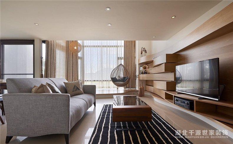 楼中楼装修案例丨实力翻新我们的家,木色满屋好温馨【宜昌装修】
