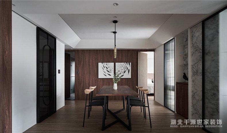 二手房设计方案丨巧思引导光与影,凸显居家现代质感