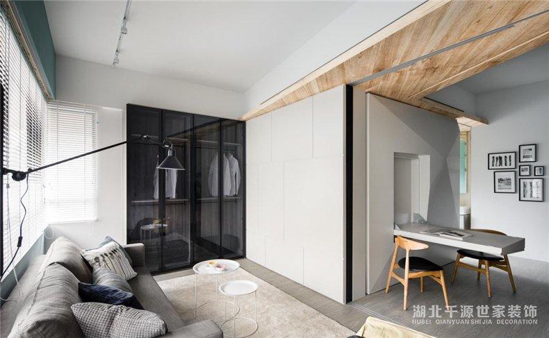 50平家装方案丨不将就的北欧风小户型【宜昌装修】