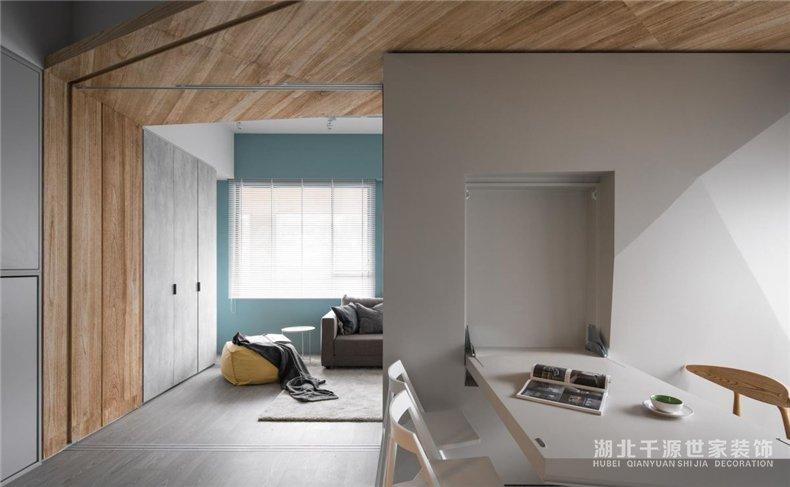 50平家装方案丨面积不足、厘革来凑,不将就的北欧风小户型