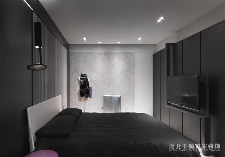 100㎡三房装修案例丨充满现代艺术感的室内设计,<a  data-cke-saved-href=