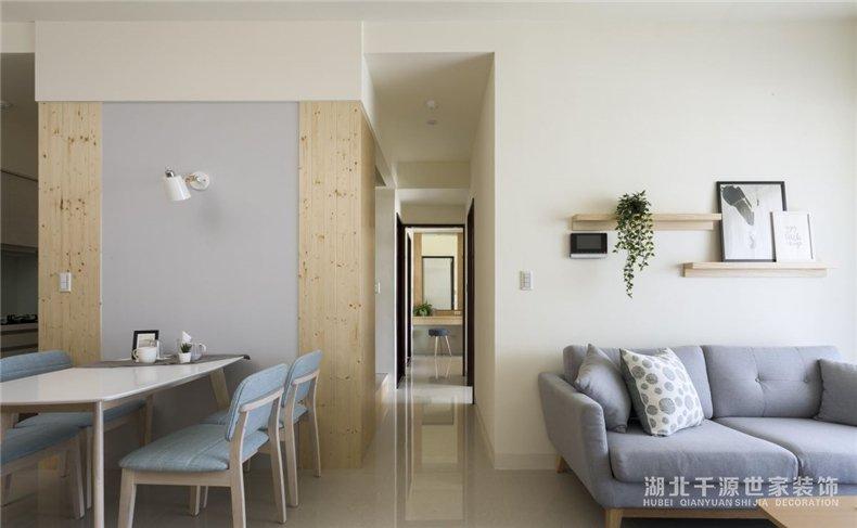 毛坯房日式装修方案丨用建材的原始样貌点缀文艺青年之家