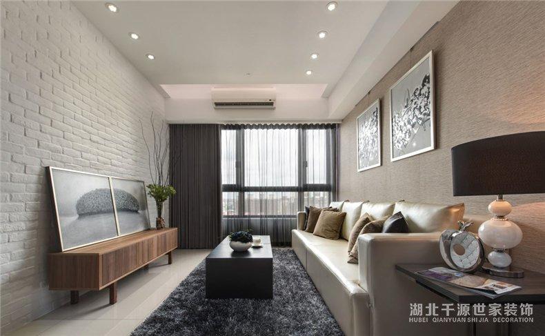 99平米家装设计丨不造作不矫情,木与石的混搭造就温馨二人世界