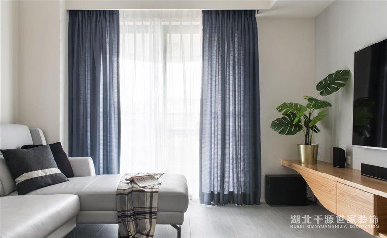 二手房重新装修案例丨小夫妻的第一套房,60平的简约小家庭【宜昌装修】