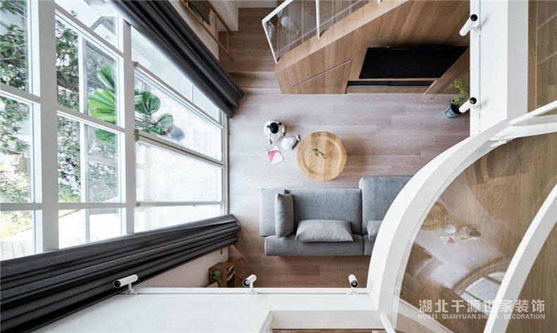 140平米复式楼装修丨延续成长的记忆,给孩子一个开朗的环境