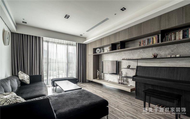 68平小户型设计案例丨从室内到室外都充满生命力的现代小家庭【宜昌装修】