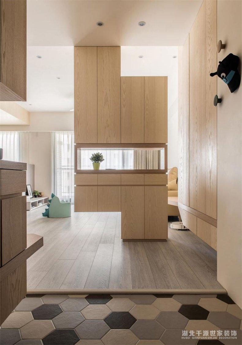 100平装修案例丨轻巧混搭人与自然,搭建出俗世里的一间小板屋