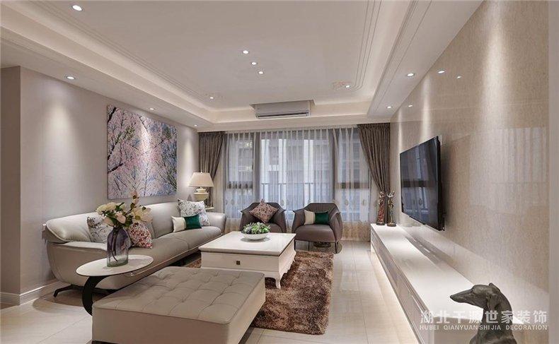 新古典大宅装修案例丨一步到位不折腾,打造五口之家的优雅生活【宜昌装修】