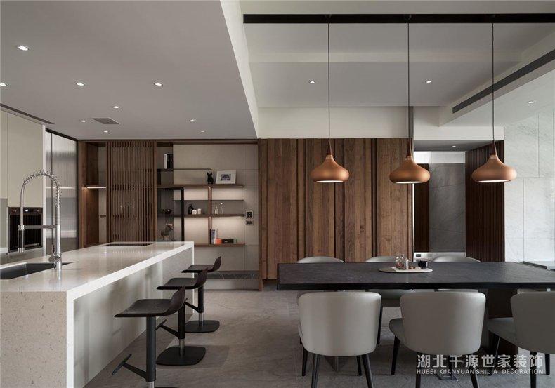 210㎡大平层装修案例丨简约敞亮的自然大宅,自住待客都适合