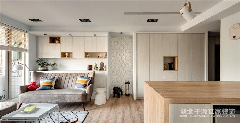 小户型家装样板间丨坐拥采光佳、视野阔的北欧小户型,时尚不落伍
