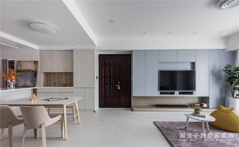 老公房重新装修丨新家处处可收纳,空间开阔不显挤【宜昌装修】