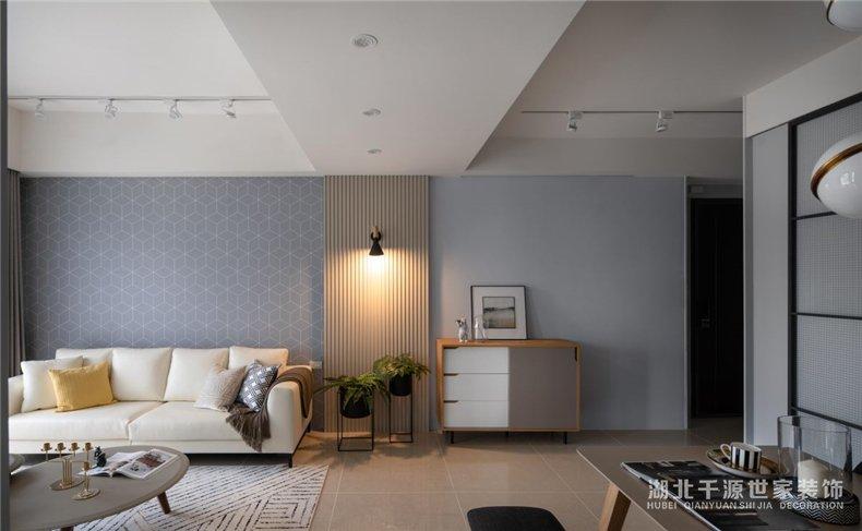 上海经济适用房装修案例丨携手住进洒满阳光的冬日北欧风新婚房