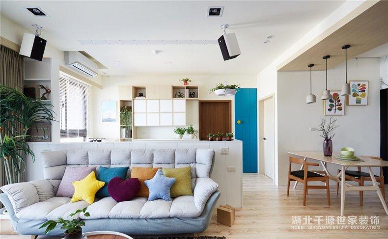 93平家装设计方案丨置身自然小板屋,自由呼吸清新空气