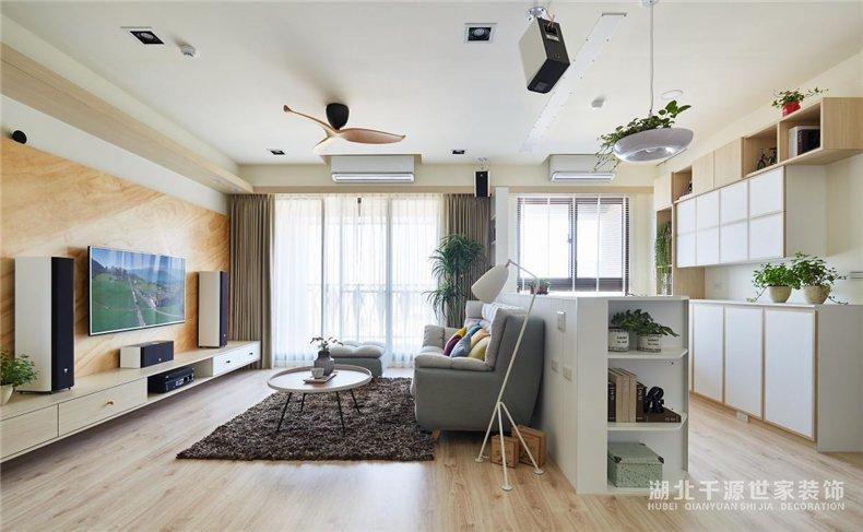 93平家装设计方案丨置身自然小板屋,自由呼吸清新空气【宜昌装修】