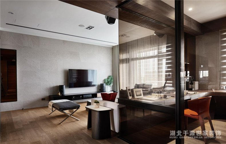 现代风旧房翻新丨走在时尚的前沿,看杂志不如看看本身家【宜昌装修】