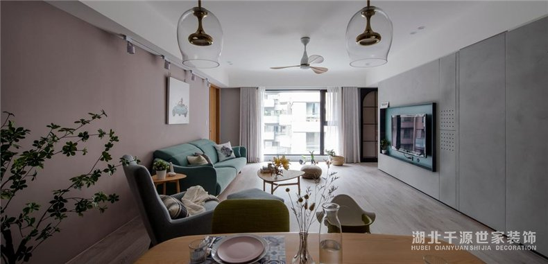 大平层装修设计方案丨一家人的梦想之家,北欧风里享受新生活【宜昌装修】