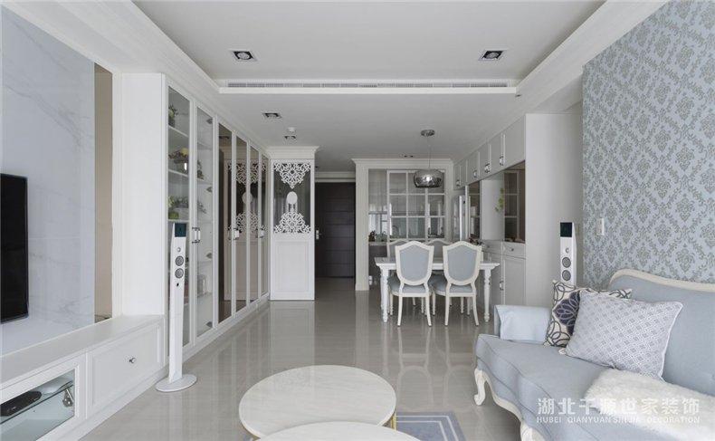 93平米装修图赏析丨浪漫程序古典宅,专属梦幻你的家