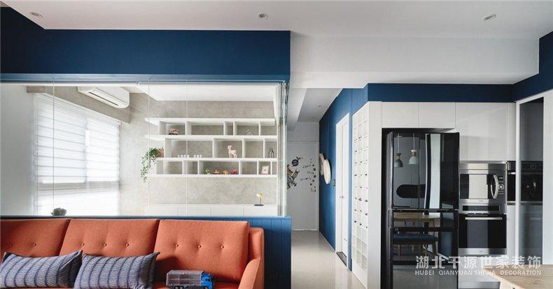 现代风家装方案丨环绕剔透的知性书房,坐拥人文之家【宜昌装修】