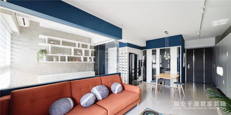 现代风家装方案丨环绕剔透的知性书房,坐拥人文之家