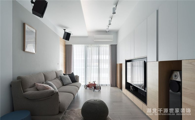 三口之家装修设计案例丨留不分的艺术,该有的需求一个也很多【宜昌装修】