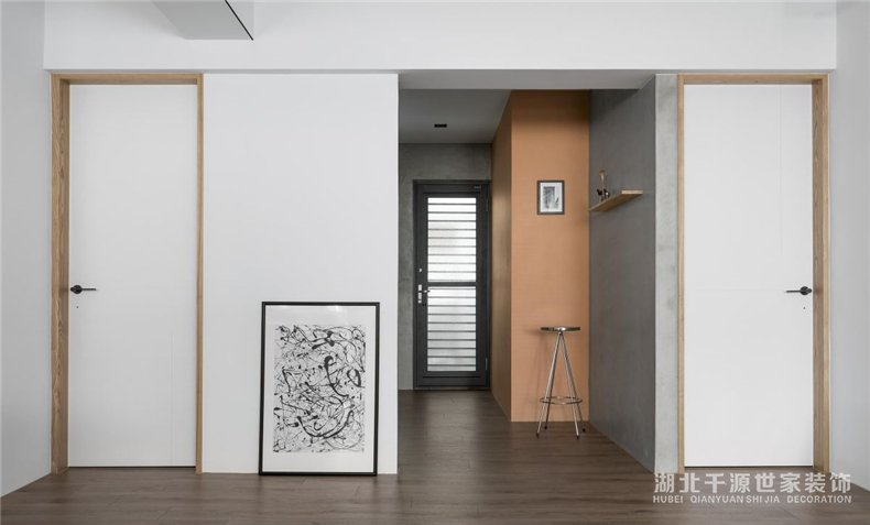 旧房重新装修案例丨老房变身新婚房,工作、生活两不误!