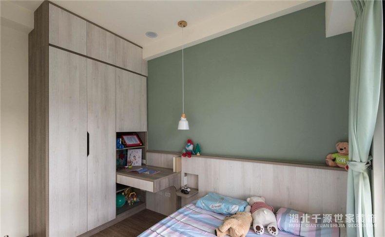 100平装修设计方案丨安宁雅致的莫兰迪色,不一样的北欧风