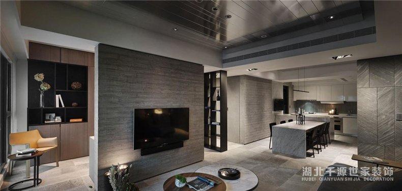 110平二手房装修效果图丨条理丰富得不像一般商品房