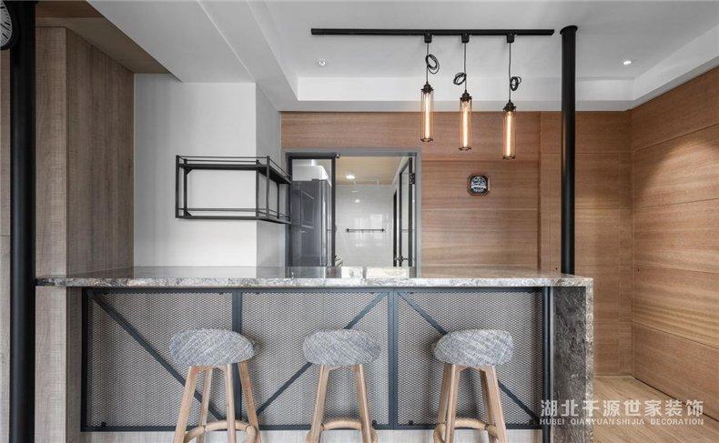 76㎡单身公寓丨专属私人健身房,混搭喜爱的风格于一体