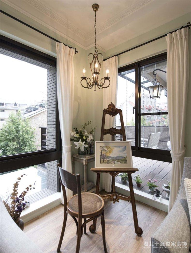 复式装修样板房丨难抵乡村小洋房的魅力诱惑,把家装故意中模样