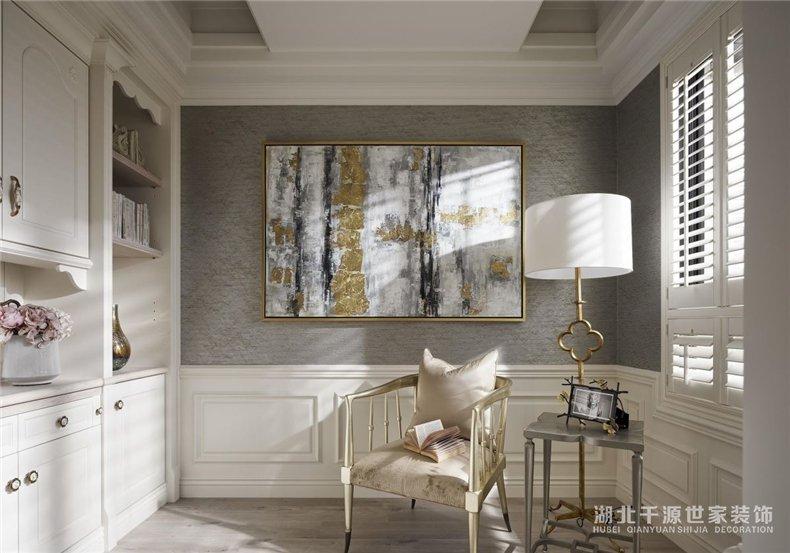两室两厅装修案例丨90平华丽的不像家装,圆你小公举的梦