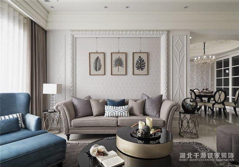 美式大宅设计丨4室2厅2卫的艺术之旅,生活品质得到升华
