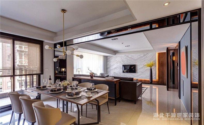 宜昌大宅装修设计丨几何元素演绎现代风居家体验