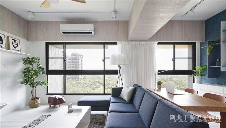 现代风装修案例丨如不分纸般的毛坯房,任由设计师和业主联手设计