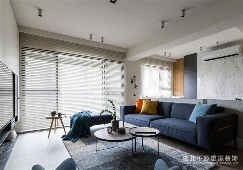 现代风格装修样板房,处处是精巧设计的现代风案例【宜昌装修】