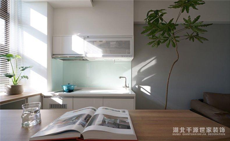 公寓房装修效果图丨轻松自在小户型,竟然2室1厅还有书房