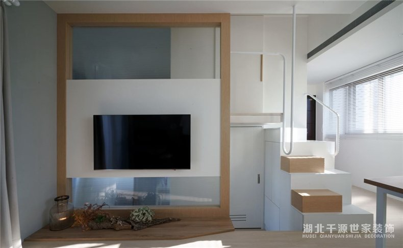 公寓房装修效果图丨轻松自在小户型,竟然2室1厅还有书房【宜昌装修】