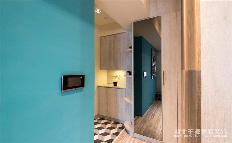 本性扮装修设计丨拒绝单调的横平竖直,给室内设计添加几何厘革