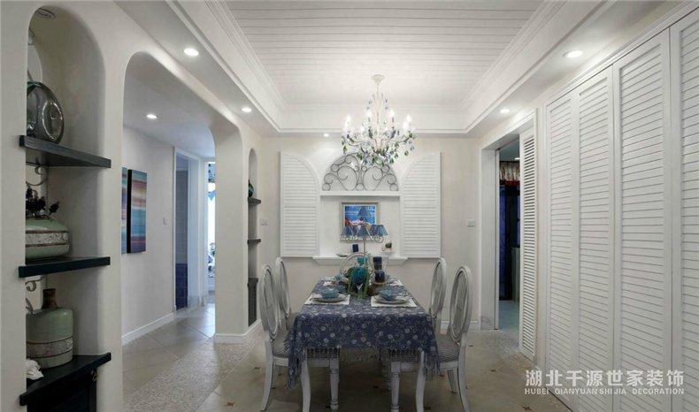 三室两厅装修案例丨度假随时随刻,地中海风格一次全拥有