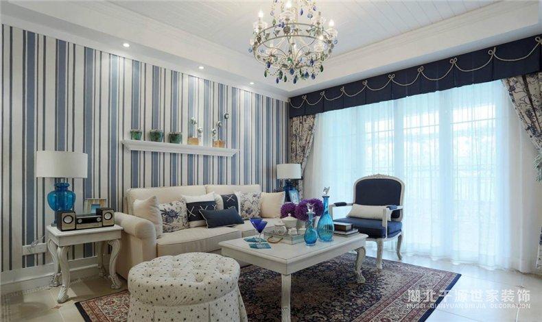 【宜昌装修公司】三室两厅装修案例丨地中海风格一次全拥有