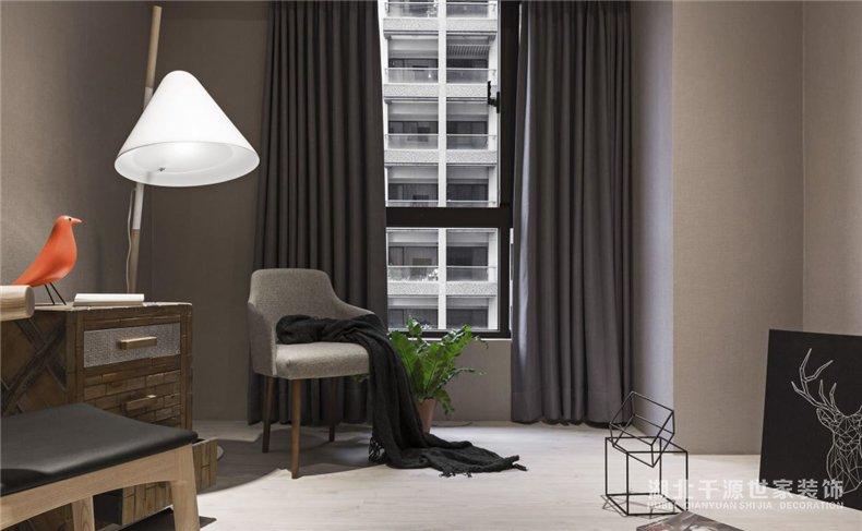 三室一厅装修案例丨混搭风设计,规划现在的安宁和未来的厘革