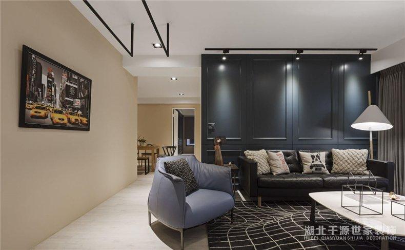 【宜昌装修公司】三室一厅装修案例丨混搭风设计,连接现在和未来